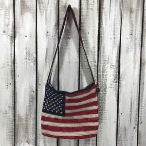 The Sak Patriotic Flag crossbody bag & coin purse
